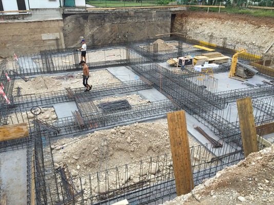 Cantiere a San Michele Extra - Verona (VR)